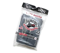 Railroad Socks Dark Grey Socks - 6076
