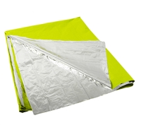 Rothco Safety Green Polarshield Survival Blanket - 1044