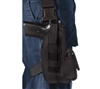 Rothco Black Tactical Holster with Leg Strap - 10550