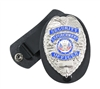 Rothco Clip On Badge Holder With Swivel Snap - 1133