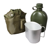 Rothco OD 3 Piece Canteen Kit - 1140
