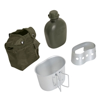 Rothco OD 4 Piece Canteen Kit - 1143