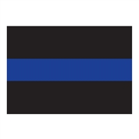Rothco Thin Blue Line Decal - 1193