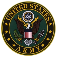 Mitchell Profit D44-A US Army Crest Logo Decal