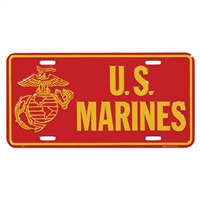 Rothco US Marines License Plate - 1370