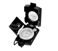 Rothco Black Deluxe Marching Compass - 14061