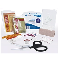 Rothco Tactical Trauma First Aid Kit Contents 1708