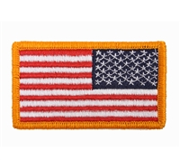 Rothco Reversed US Flag Patch With Hook Back - 17778