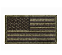 US Flag Patch With Hook and Loop - 17783