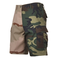 Rothco 1810 Two-Tone Camo BDU Shorts