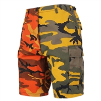Rothco 1815 Two-Tone Camo BDU Shorts