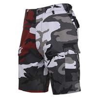 Rothco 1825 Two-Tone Camo BDU Shorts