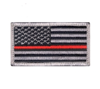 Rothco Thin Red Line US Flag Patch 18889