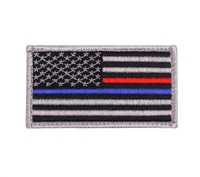 Rothco 18899 Thin Red and Blue Line US Flag Patch