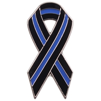 Rothco Thin Blue Line Ribbon Pin 1965