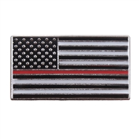 Rothco Thin Red Line Flag Pin 1968