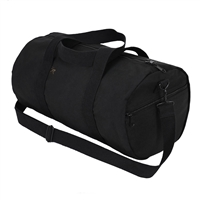Rothco Black Canvas Shoulder Bag - 2221