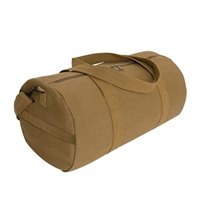 Rothco coyote brown canvas shoulder duffle bag - 2228