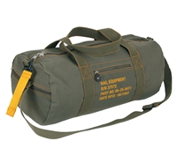 Rothco Olive Drab Canvas Equipment Bag - 22336