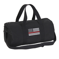 Rothco Thin Red Line Canvas Shoulder Duffle Bag 2260