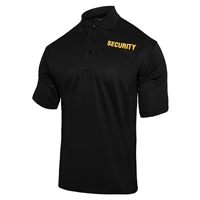 Rothco Moisture Wicking Security Polo Shirt 2316
