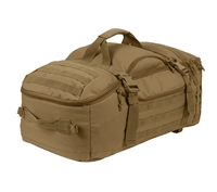 Rothco 3 In 1 Coyote Brown Convertible Mission Bag - 23501