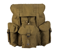 Rothco Olive Drab Canvas Mini Alice Packs - 2487