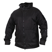 Rothco Black Tactical Zip Up Hoodie 2507