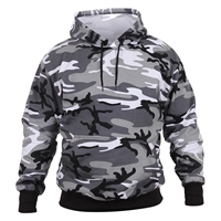 Rothco 2690 City Camouflage Pullover Hooded Sweatshirt