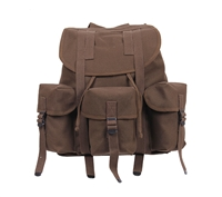 Rothco Brown Canvas Mini Alice Pack - 2697