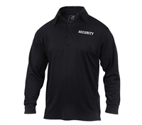 Rothco Moisture Wicking Long Sleeve Security Polo 2716