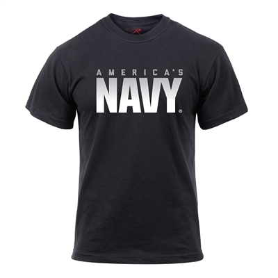 Rothco Athletic Fit Americas Navy T-Shirt 2763