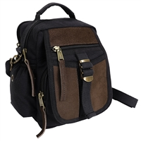 Rothco Canvas n Leather Travel Shoulder Bag 2836