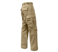 Rothco Relaxed Fit Zipper Fly Khaki BDU Pants 2931