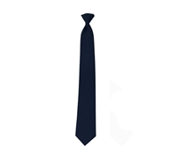 Rothco Navy Blue Clip-on Police Issue Necktie - 30080