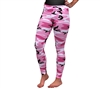Rothco Womens Pink Camo Leggings 3188