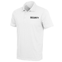 Rothco White Moisture Wicking Security Polo Shirt 3211