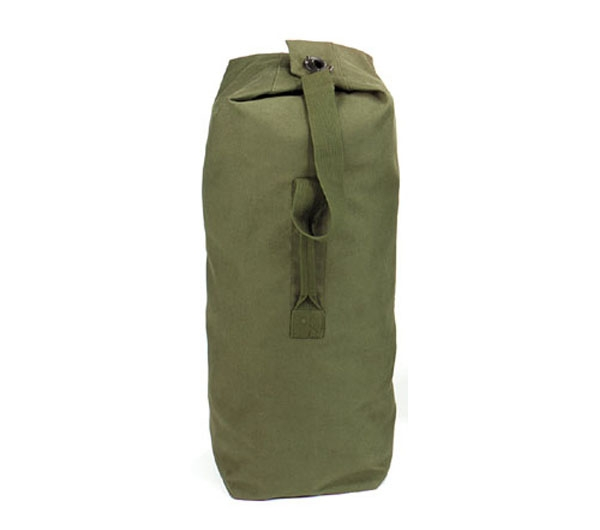 Rothco Olive Drab Top Load Canvas Duffle Bag - 3339. View Larger Photo 48319c7cabc00