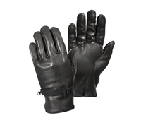 Rothco Black D-3A Leather Gloves - 3383