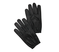 Rothco Black Leather Police Duty Gloves - 3450