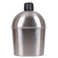 GI Style Stainless Steel Canteen 3512