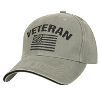 Rothco 3599 Olive Drab Vintage Veteran Low Profile Cap
