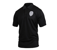 Moisture Wicking Security Polo Shirt With Badge 3627
