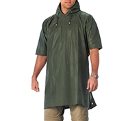 Rothco Olive Drab Rubber Poncho - 3636