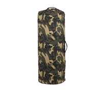 Rothco Woodland Camo Zipper Canvas Duffle Bag - 3689