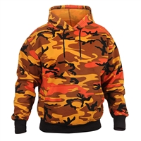 Rothco 3690 Savage Orange Camouflage Pullover Hooded Sweatshirt