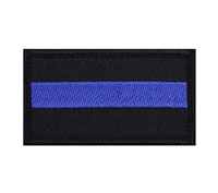 Rothco Thin Blue Line Patch - 37789