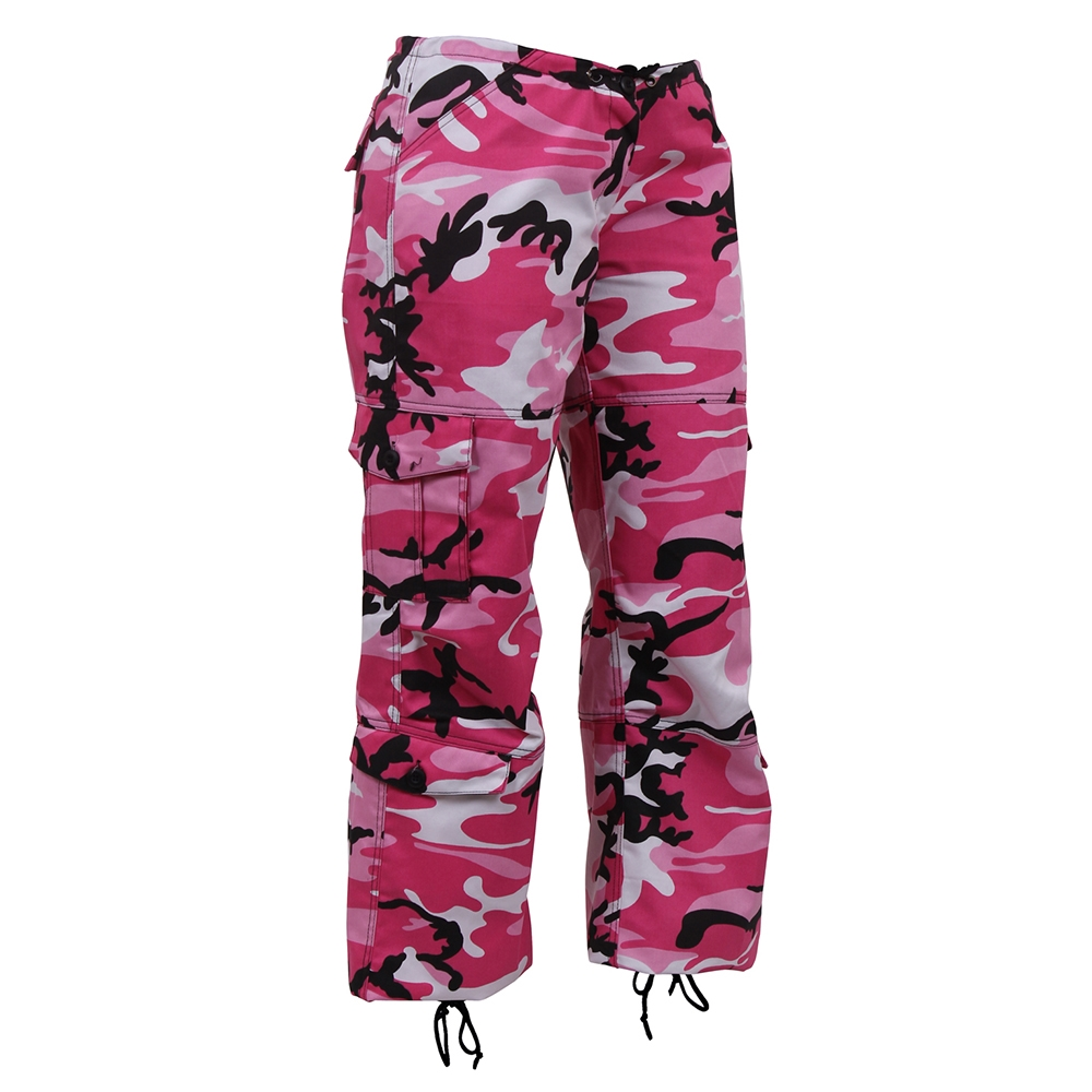 290d4e5ff2fd Rothco Womens Paratrooper Pink Camo Pants 3781. View Larger Photo