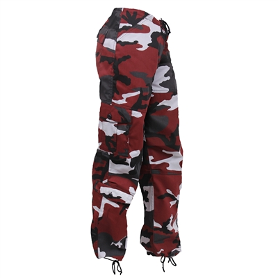 Rothco Womens Red Camo Paratrooper Pants 3782