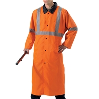 Rothco Orange Reflective Rain Parka - 3889